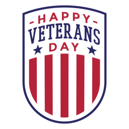 Crachá do dia dos veteranos
