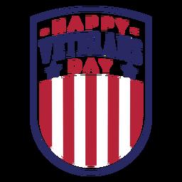 Insignia del día de los veteranos