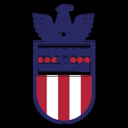 Águila insignia del día de los veteranos