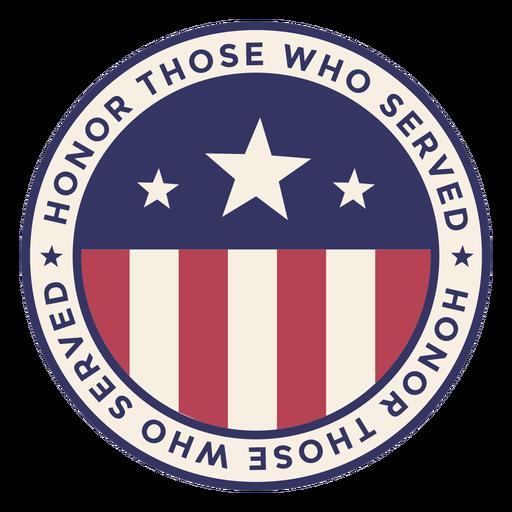 Emblema do Dia dos Veteranos