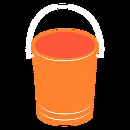 Water bucket flat