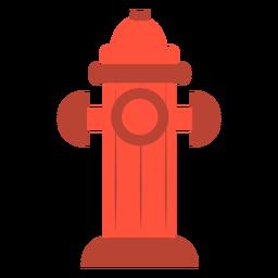 Hidrante de agua plano