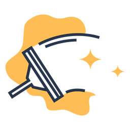 Window cleaner clean stars icon
