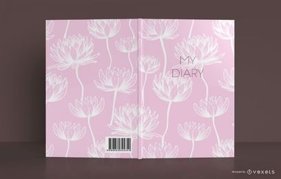 Lotus Diary Book Cover Design