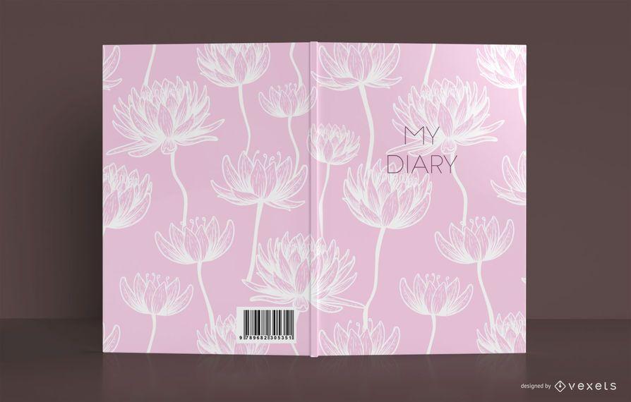 Design da capa do livro do Lotus Diary
