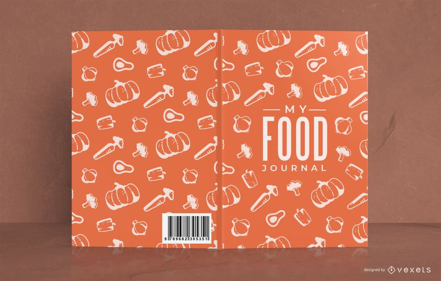 My Food Journal Pattern Cover Design