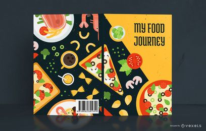 My Food Journey Diseño de portada de libro
