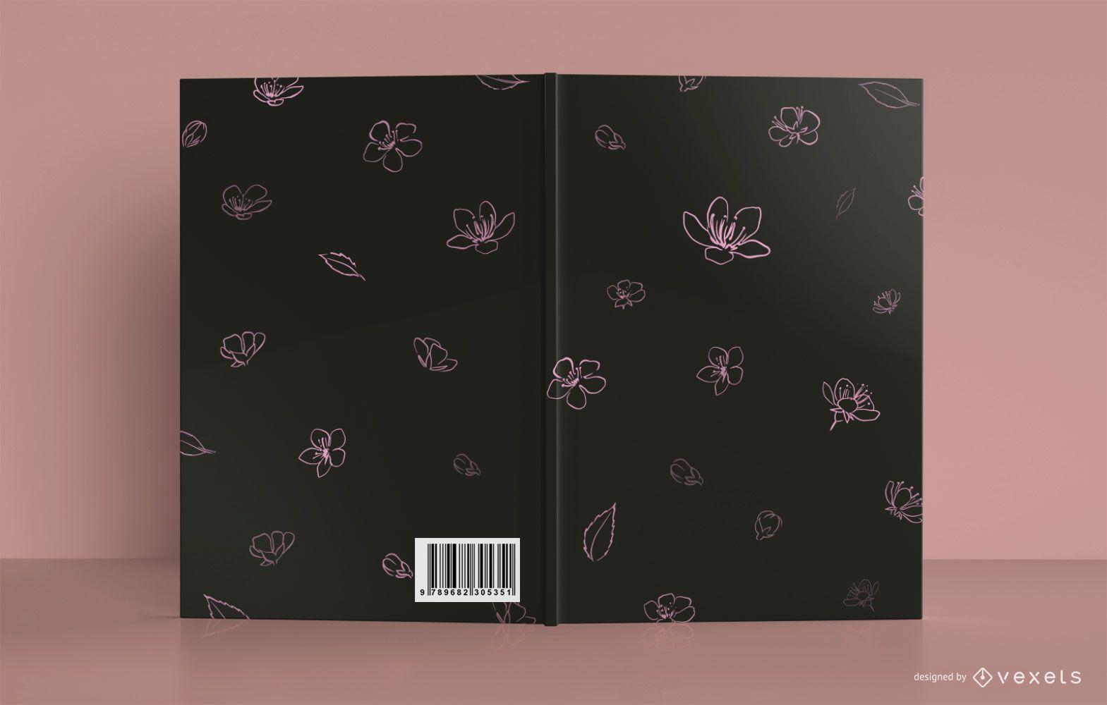 Floral Meditation Book Cover Design