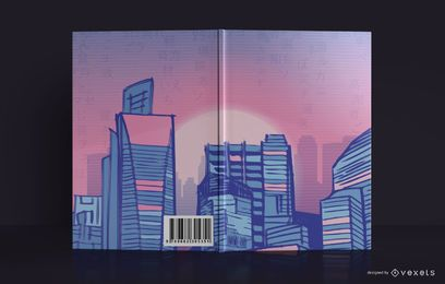 Design da capa do livro Cityline Sketchbook