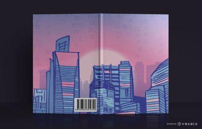 Diseño de portada de libro Cityline Sketchbook
