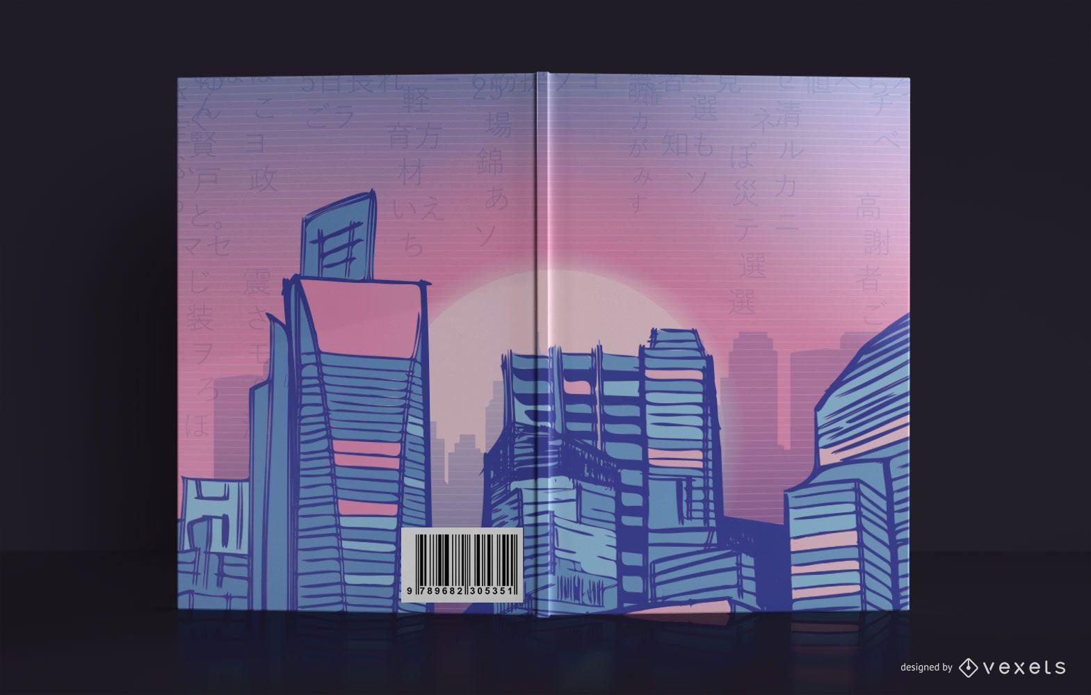 Cityline Sketchbook Book Cover Design