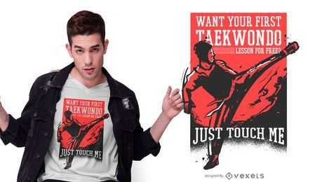 Taekwondo Quote T-shirt Design