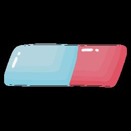 Eraser glossy