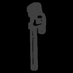 Impresionante herramienta de llave inglesa