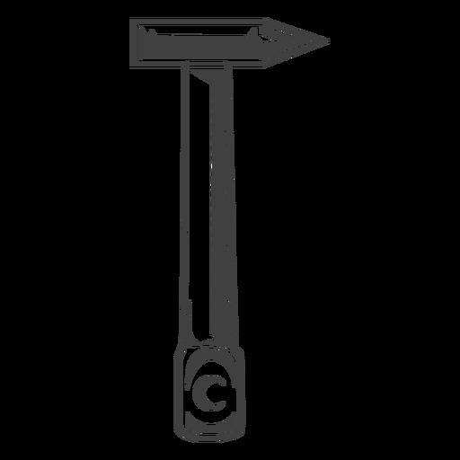 Herramienta de martillo de ladrillo