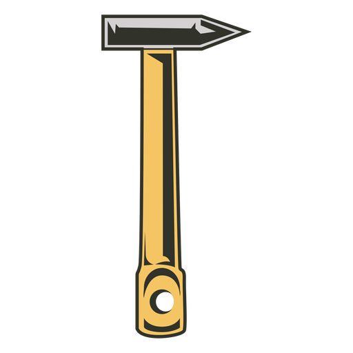Brick hammer tools colored