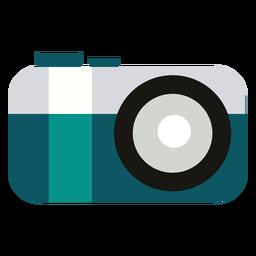 Câmera plana de acampamento