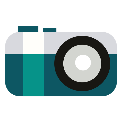Camping camera flat Transparent PNG