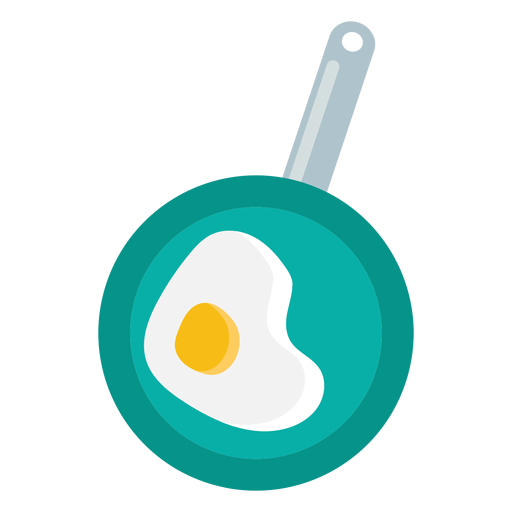 Camping cooked egg flat Transparent PNG