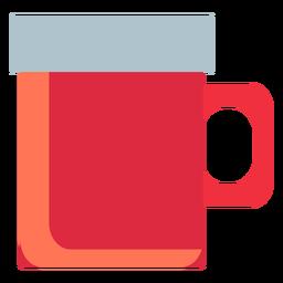 Camping mug flat
