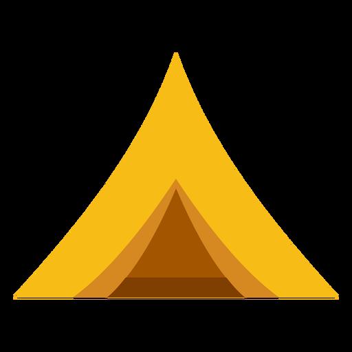 Camping tent flat Transparent PNG