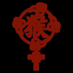 Chinese horoscope monkey symbol