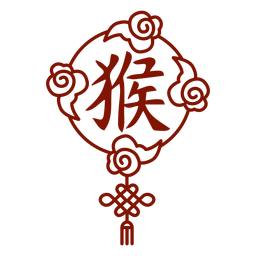 Símbolo del mono horóscopo chino