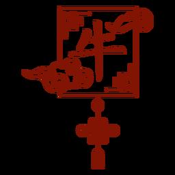 Símbolo del buey del horóscopo chino