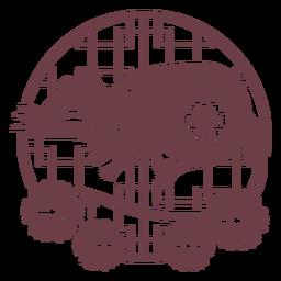 Composición de la rata del horóscopo chino