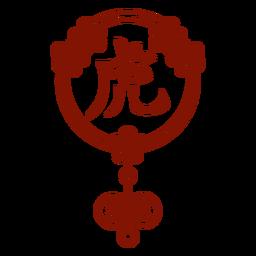 Chinese horoscope tiger symbol