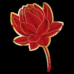 Flor de lótus chinesa