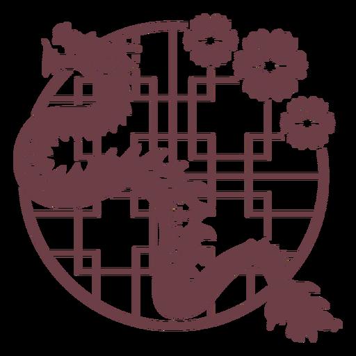 Composición del horóscopo chino dragón