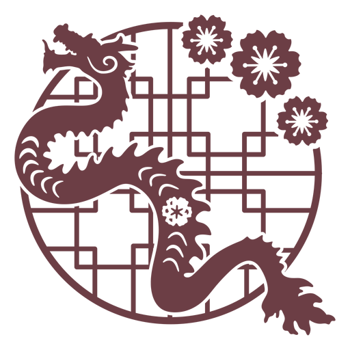 Composition chinese horoscope dragon