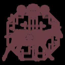 Cabra horóscopo chinês composição