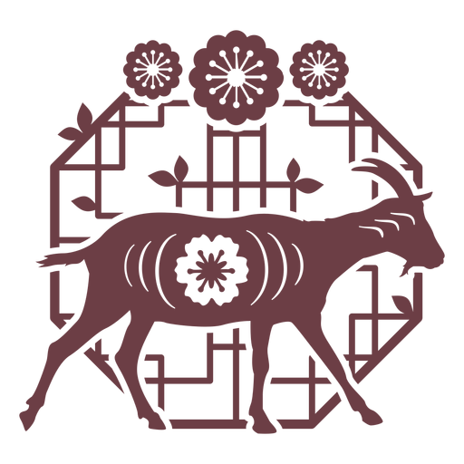 Composition chinese horoscope goat