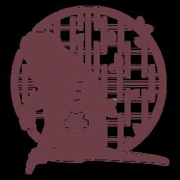 Composition chinese horoscope monkey
