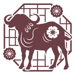Composition chinese horoscope ox