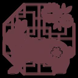 Composición horóscopo chino conejo