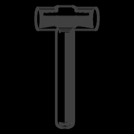 Marreta ferramenta cinza