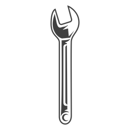 ferramenta chave cinza