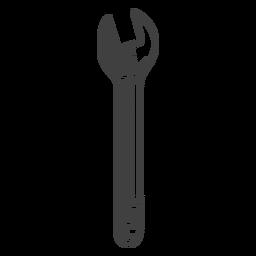 herramienta llave inglesa gris