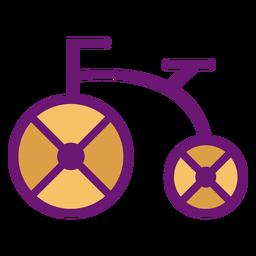 Icono de bicicleta de color