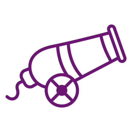 Icon cannon stroke Transparent PNG