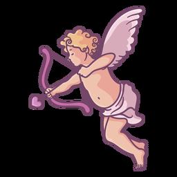 Flecha de tiro de Cupido lindo