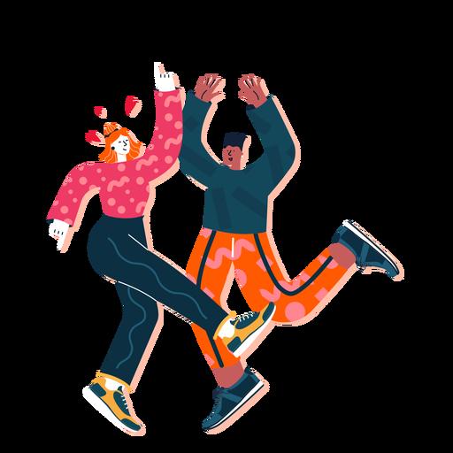 Cute dancing couple