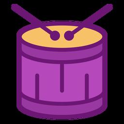 Icono de tambor de color