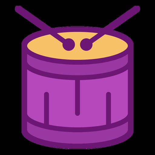 Icon drum colored