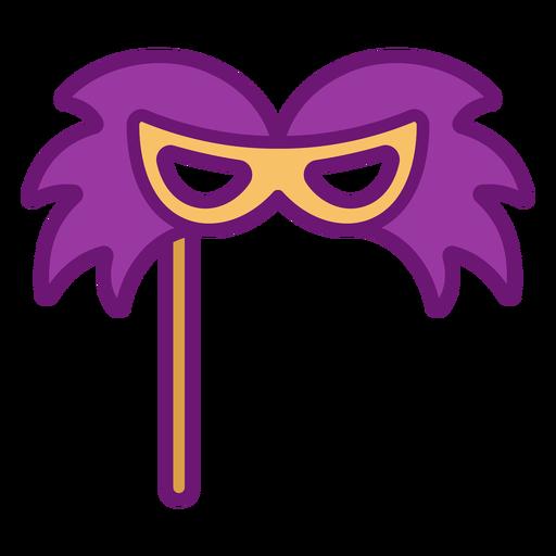 Icon mask colored