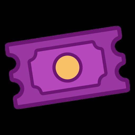 Icon ticket colored