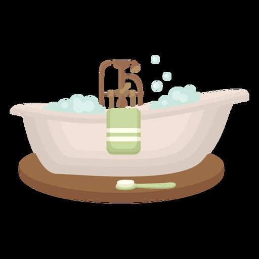 Flat bathtub cool Transparent PNG
